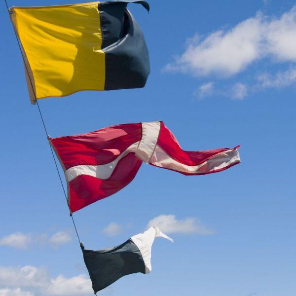 Custom Made Boat Flags